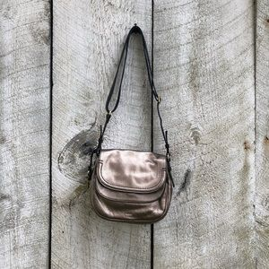 Fossil | metallic crossbody bag